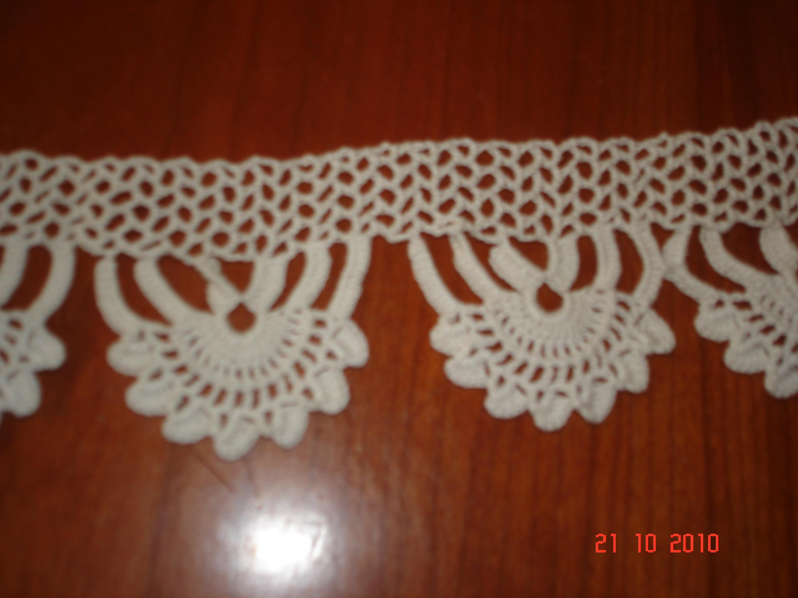Bordo per biancheria:  è un bordo che potrebbe essere utilizzato per rifinire asciugamani e non solo.