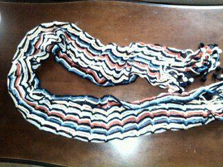 Sciarpa multicolore