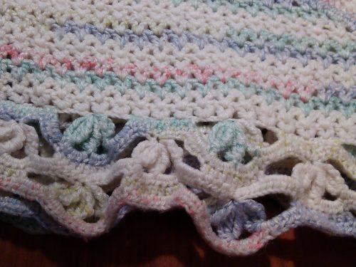 lavorazione con lana sfumata