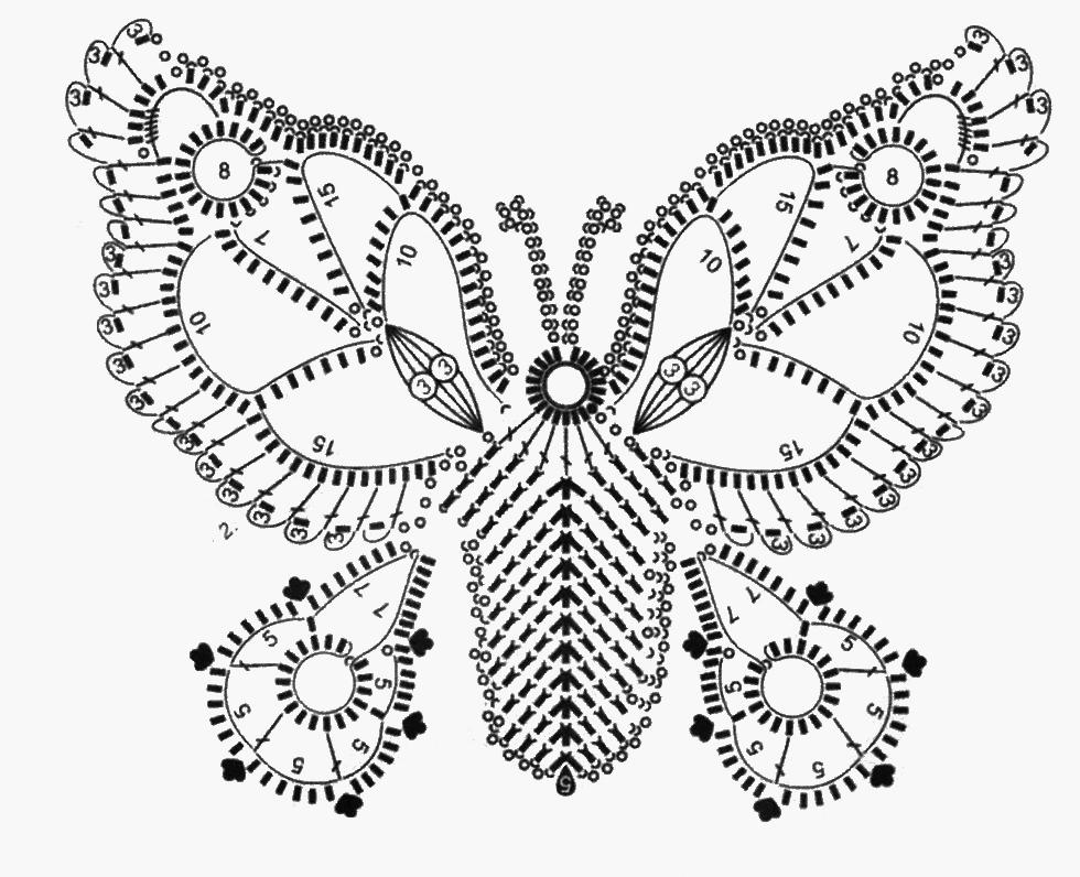 Applicazione A Forma Di Farfalla