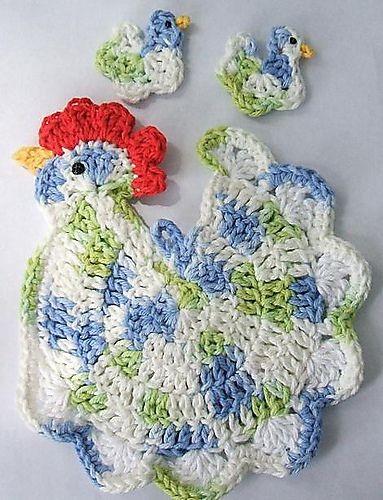 Belle e e coloratissimepresine a forma di galline