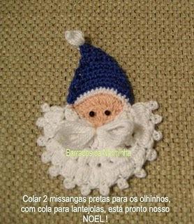 Bordo Alluncinetto Originale Con Babbo Natale
