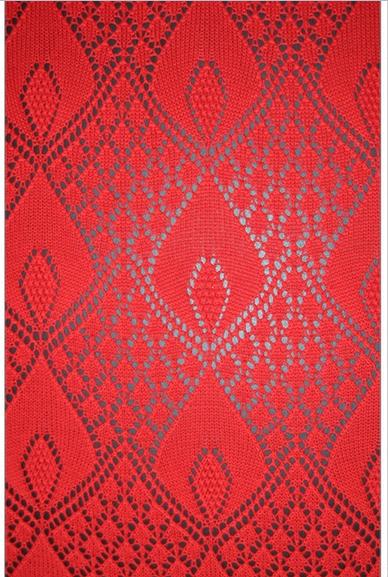 Sciale stupendo di un colore rosso vivo