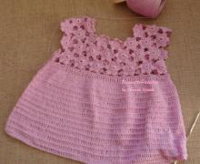 Vestito lilla da bimba
