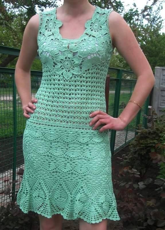 Meraviglioso abito verde
