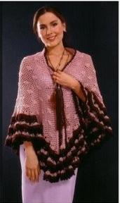 Una vera meraviglia questo scialle