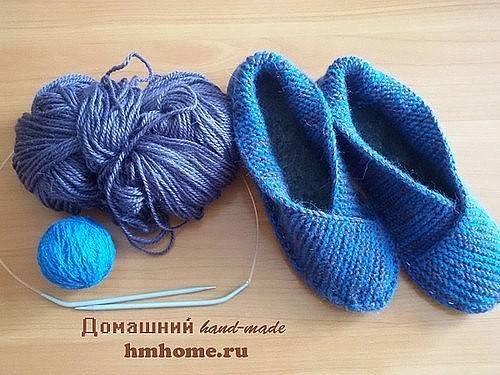 Pantofole facili da realizzare a maglia