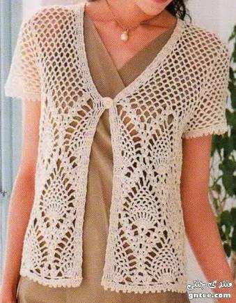 Punto Crochet All Uncinetto.Maglietta All Uncinetto Con Taglio Particolare Uncinetto Passione