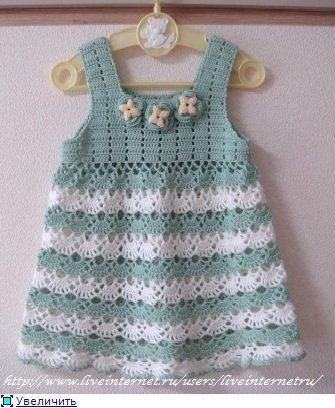 Meraviglioso modello di abito per bimba