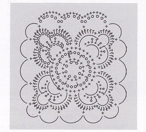 Favolosa Giacca Alluncinetto Formata Da Moduli Quadrati