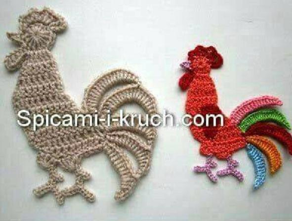 Applicazione a forma di gallo