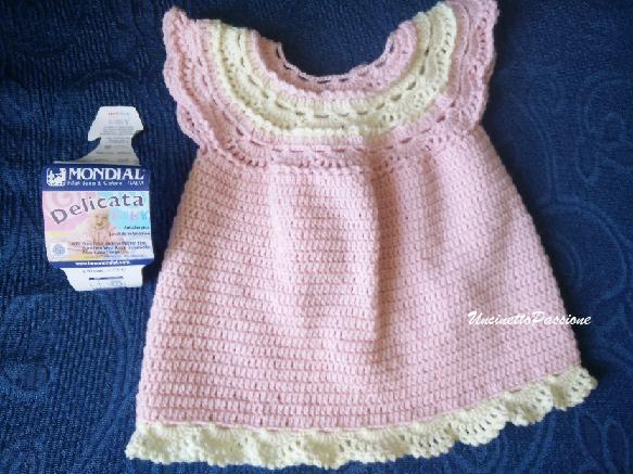 Tenerissimo abitino per neonata (0 - 3 mesi)