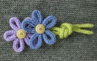 decorazioni o applicazioni realizzate con il tricotin