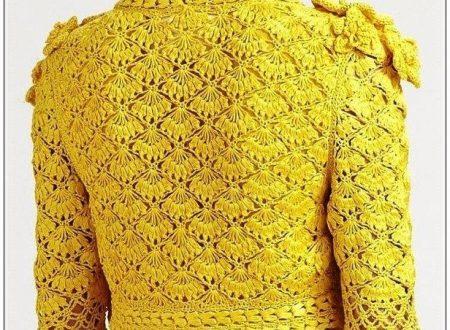 Favolosa e luminosa giacca gialla
