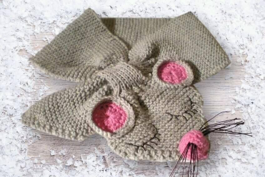 l'atteggiamento migliore a46d9 999e8 sciarpe per bambini rappresentando animali