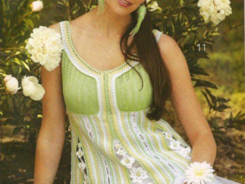 Bellisssima tunica fiorita