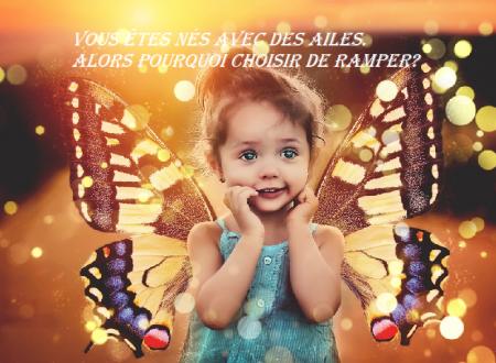 Vous êtes nés avec des ailes,