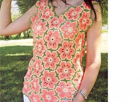 Bellissima maglietta fiorita