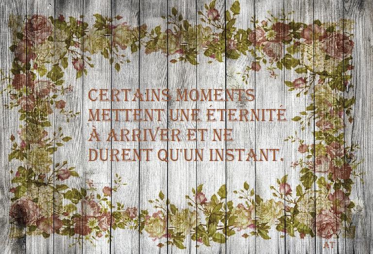 Certains moments mettent une éternité