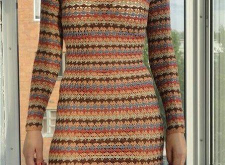 Bellissimo abito multicolori