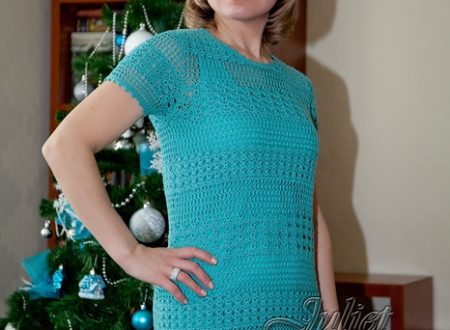 Stupendo vestito turchese