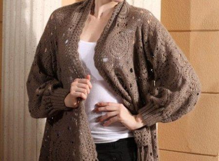 Favolosa maglia-scialle