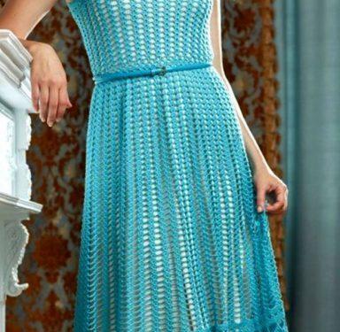 Meraviglioso abito turchese