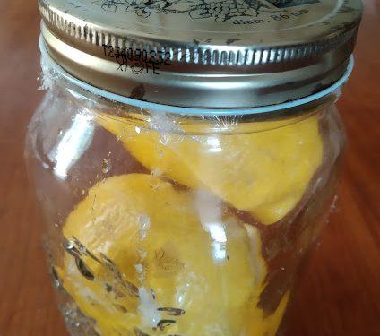 Conserva di limoni con sale