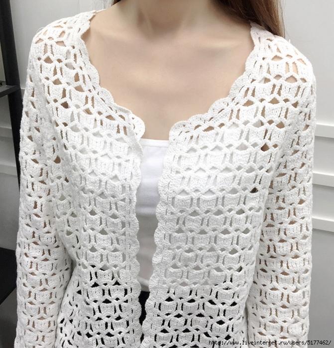 giacca bianca semplice ma di grande effetto